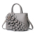 EMC390-1 Latest casual flowers designer ladies pu shoulder bag women handbag supplier