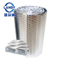 Aluminum foil heat fire resistant bubble roof insulation for building,bubble insulation foil roll material