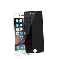 Latest Model Anti Spy Privacy Screen Protector, Competitive Price Tempered Glass Privacy For Iphone 6 plus