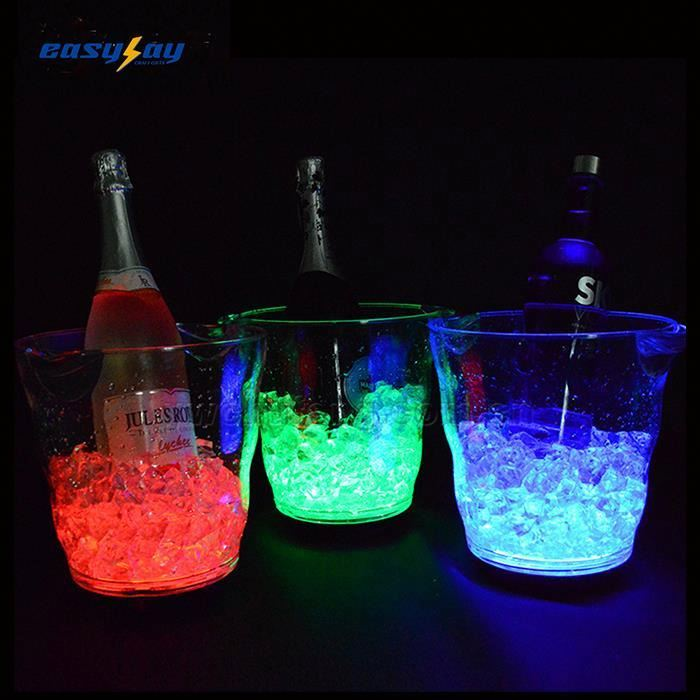 China Supplier Oem/odm Led Bucket With Handle Light Up Bucket With Handle