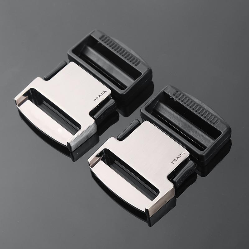 MONIQUE Men Zinc Alloy Single Prong Horseshoe 30mm Wide Belt Replacement Buckle