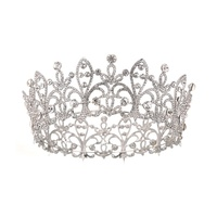 Big diadem tiara custom pageant crowns tiara wedding