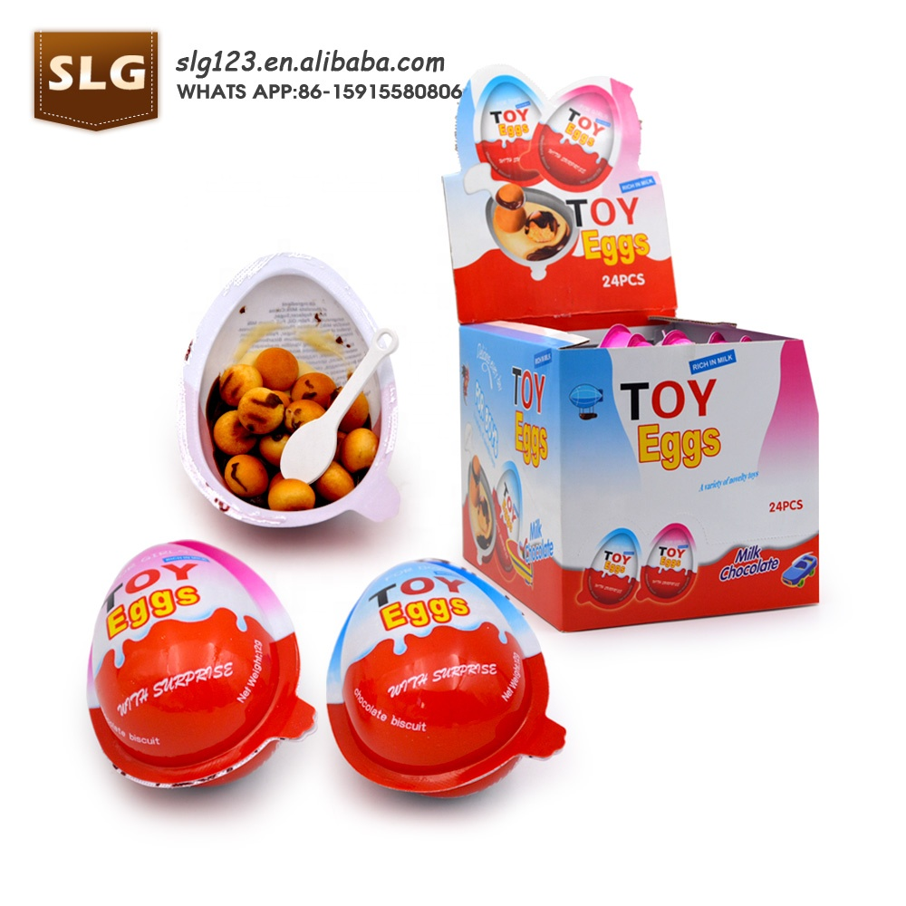 Wholesale Boy & Girl Surprise chocolate egg with toy