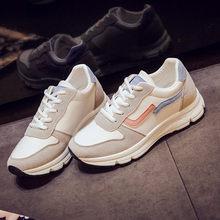 Женские кроссовки на массивной подошве, повседневные кроссовки для папы, женские сетчатые кроссовки со шнуровкой, удобная модная прогулочн...(Китай)