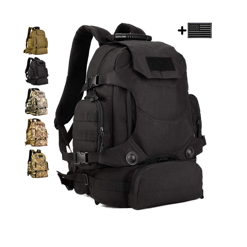 FREE SAMPLE Molle Pack military backpack Travel Tactical Bag Bug out bag US School backpack laptop backpack
