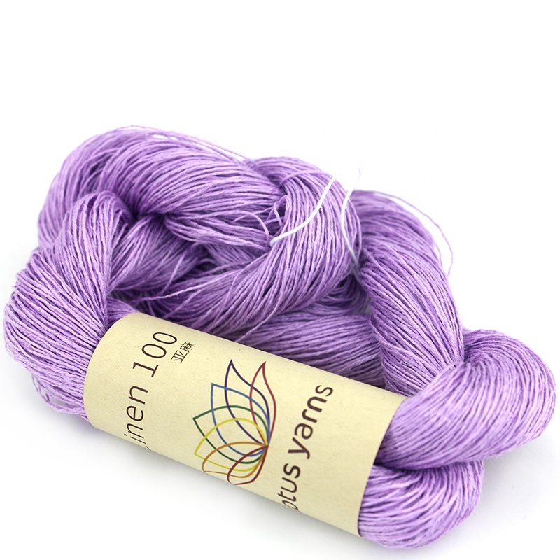 Summer linen spun yarn, linen yarn 100% for handknitting and crocheting
