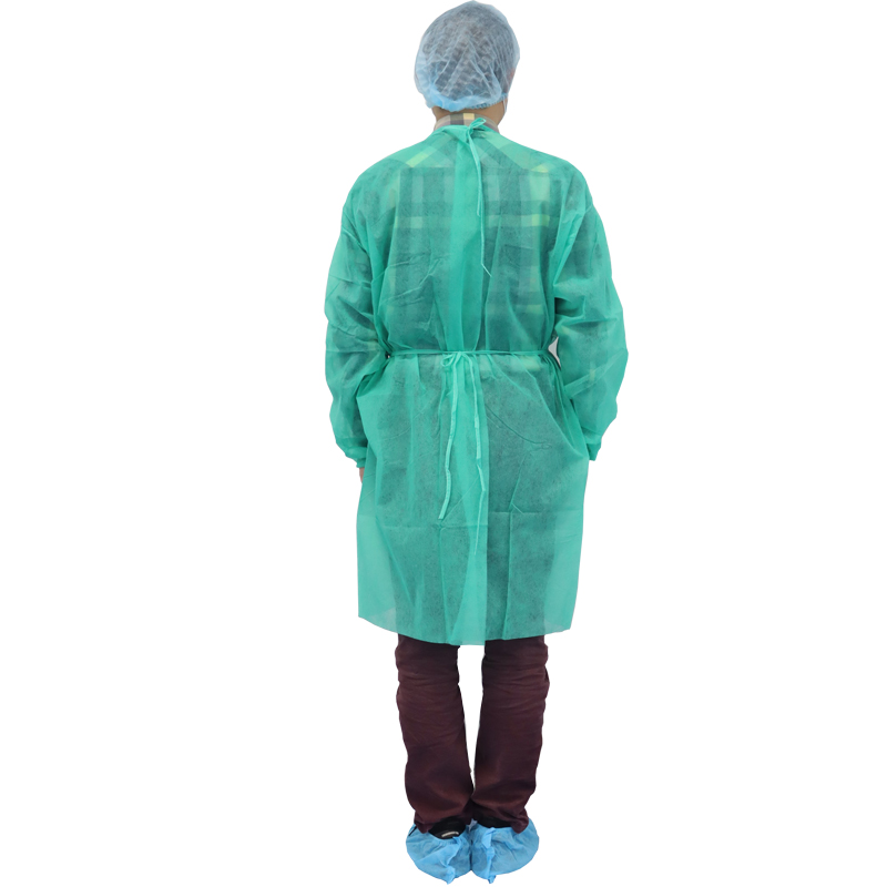 Cheap Non-Woven Green Aami Level 1 Isolation Gown Medium Xiantao Tnt Surgical Medical Disposable Isolation Gown - KingCare | KingCare.net