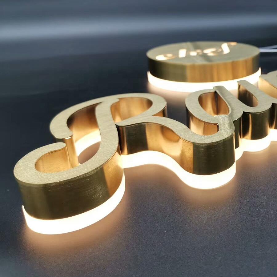make logo for my company lighted alphabet metal letter sign,light up letters for sign,backlit led channel letters sign