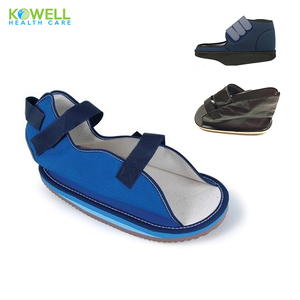 Physiotherapy Orthopedics Canvas Cast Sandal Post-Op Shoe