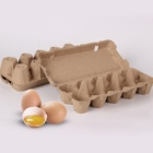 Eco friendly biodegradable recycled high quality cardboard pulp box paper egg tray boxes
