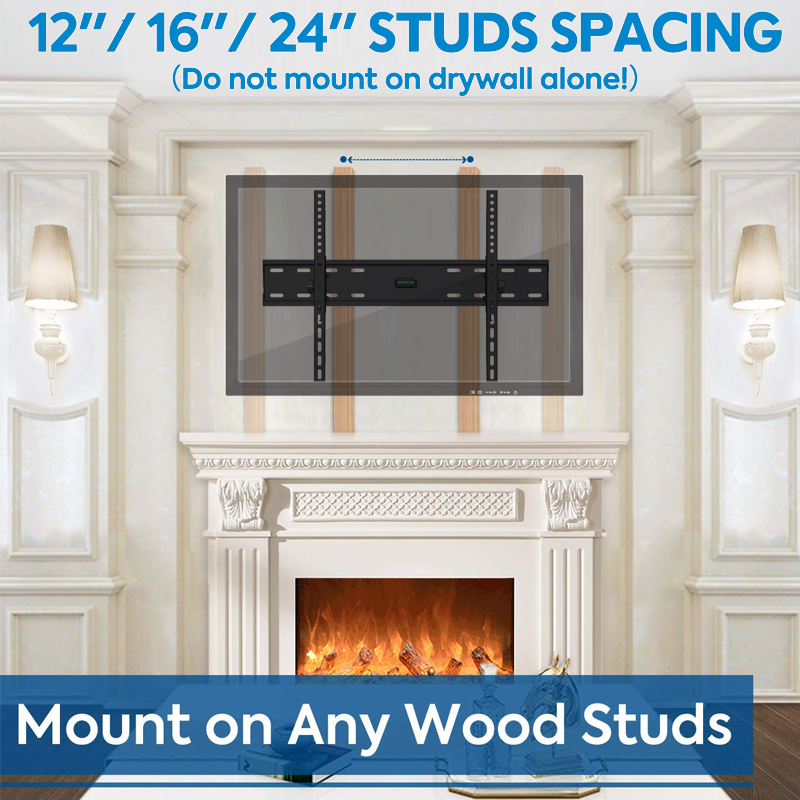 "Sliding Tilt TV Wall Mount Bracket for 32""-65"" LCD LED Plasma TV Flat Panel Screen"