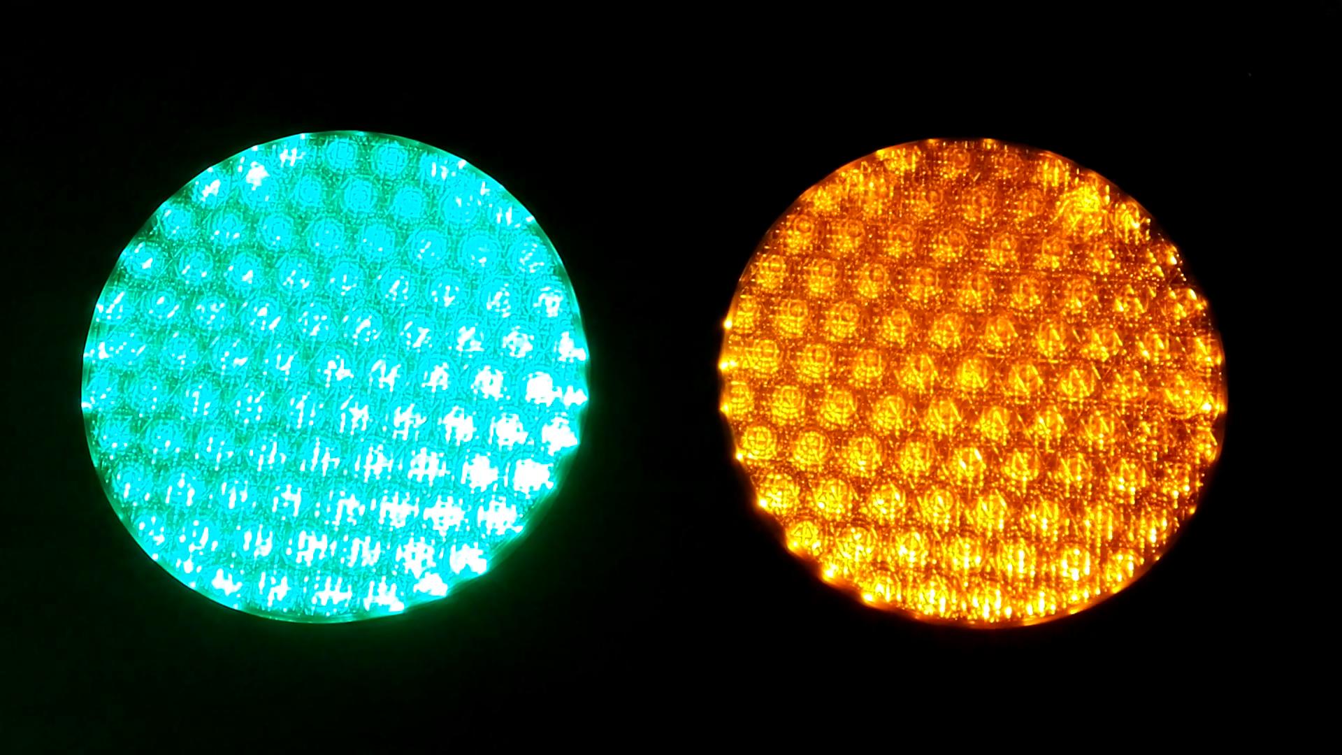 200mm voll ball Rot Gelb Grün LED verkehrs signal licht mit cobweb objektiv