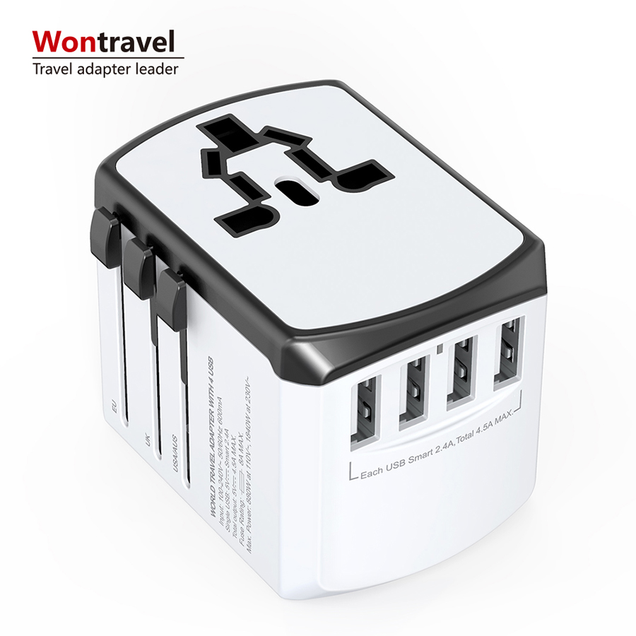 Relatiegeschenken 2019 dual wall charger 3 in 1 schakelaar socket met usb charger europese adapter