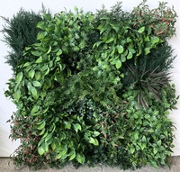 factory price high quality faux greenery wall,artificial plant wall for garden decoration