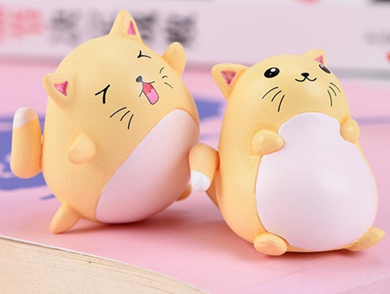 Factory Direct Supply Hot Sale Miniatures Terrarium Figurines Cartoon Cat