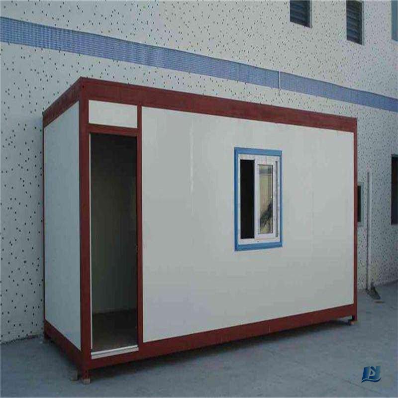 Precio de fábrica de Circuitos Integrados Lista de BOM de acero galvanizado casas de diseño de muebles para Tienda Móvil techo plano pequeña casa planes