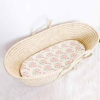 Wholesale moses basket sleeping and mattress new baby sleeping bed cradle moses basket with stand