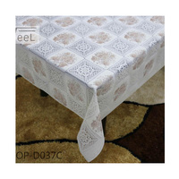 PVC/Vinyl 3D Printing pvc lace tablecloth