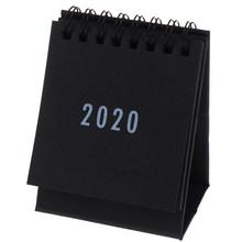 Новый 2020 планировщик настольный календарь Еженедельный планировщик ежемесячно делать список Настольный календарь офисные принадлежности(Китай)