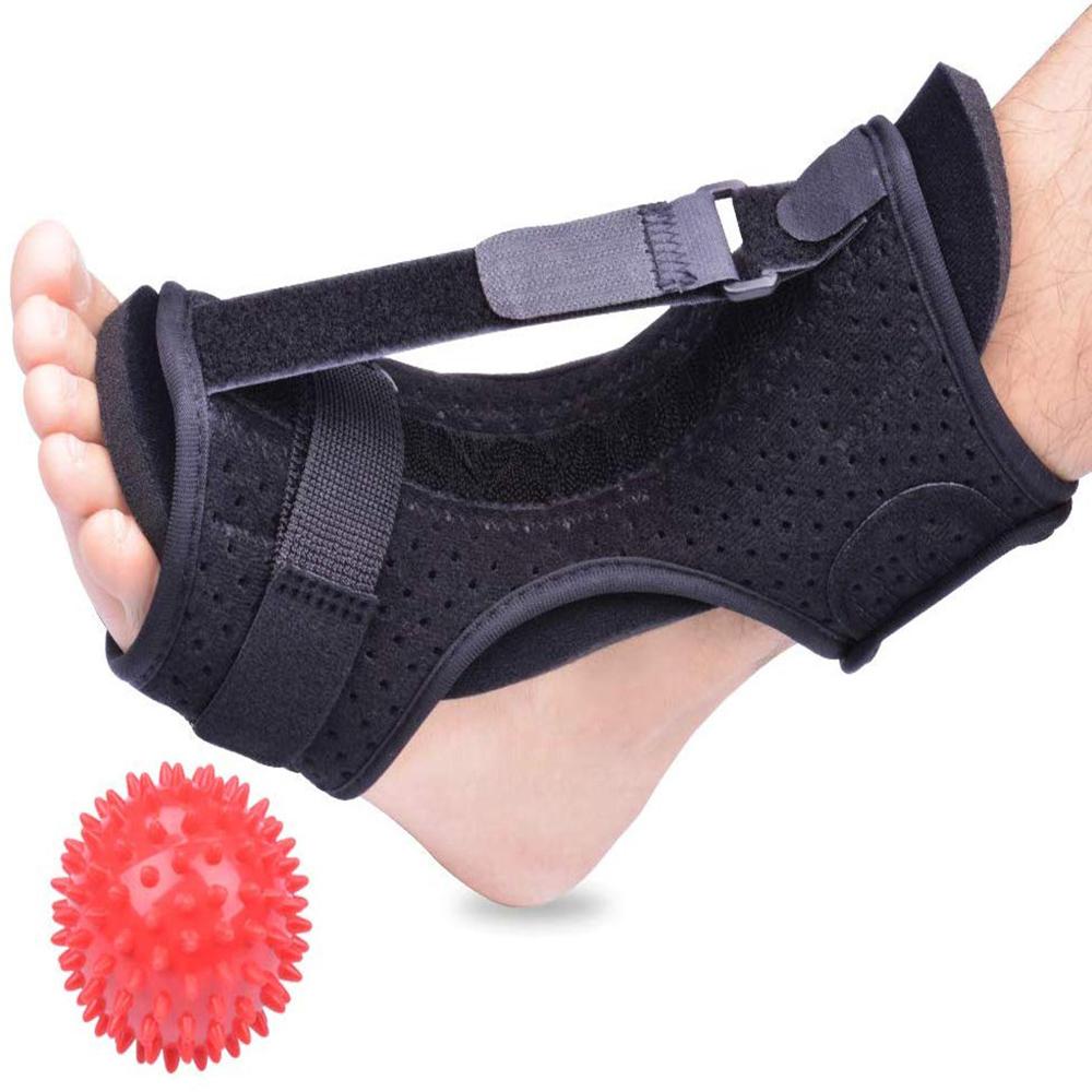 Queda Do Pé Ortopédico Fasceíte plantar Noite Splint Dorsal Noite Splint Brace Ajustável