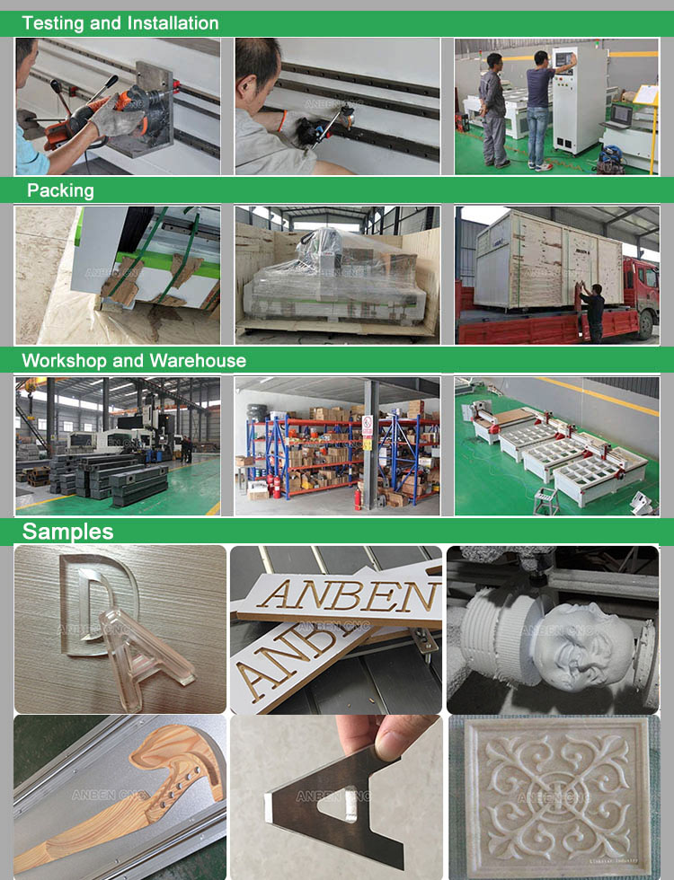 Advertising Acrylic 1212 CNC Router 1200x1200