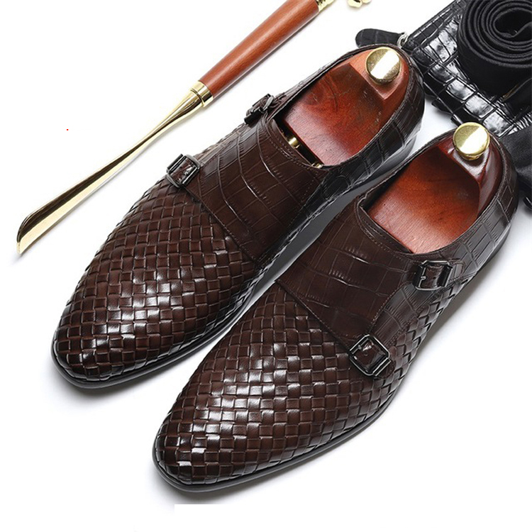 Luxury brand British Style Formal <strong>Shoes</strong> <strong>Men</strong> Dress Loafers Genuine Leather <strong>Men's</strong> Slip-on <strong>Shoes</strong> Handmade Office <strong>Shoes</strong>