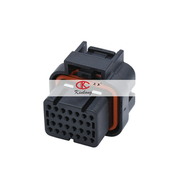 26 way Tyco/AMP TE 1.0mm series Female automotive ECU Connector 3-1437290-8 3-1437290-7