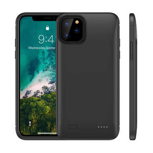 Best Selling 5200mAh/6200mAh Backup slim Mobile Phone Battery Case For iPhone 11,11 Pro,11 Pro Max