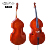 Strings instruments OEM plywood maple double bass made in China