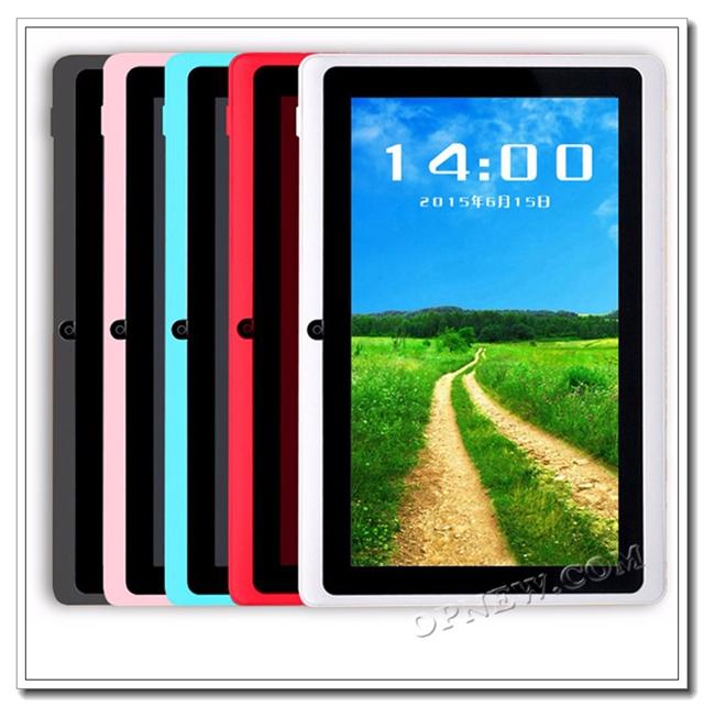 安いタブ pc 子供 7 インチタブレット pc allwinner a33 android6.0 ミニ pc 、 mid