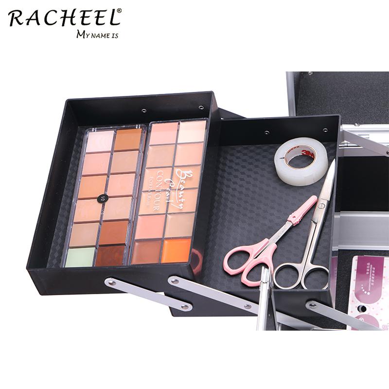 RCHEEL New Makeup Case Aufbewahrung sbox Cosmetic Organizer Container Koffer Beauty Case