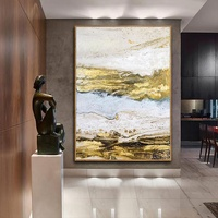 Abstract white landscape art canvas painting acrylic paintings on canvas modern wall pictures wall art home decor large paint