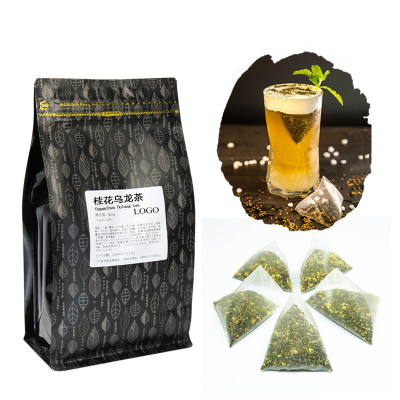Osmanthus Oolong tea Nylon Tea Bags for fruit rea and Snow cap tea TBO06 - 4uTea   4uTea.com