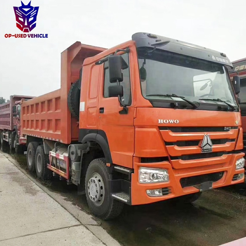Used Howo Sinotruck Dump Truck Tipper Truck Prices