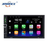Universal Touch Screen Gps Navigation Multimedia 7 Inch Car Dvd Video Player 2 Din Bluetooth Auto Android Stereo Car Radio