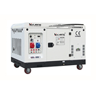 New model 20KVA 22KVA 16KW silent three phase 2V98 two cylinder diesel generator with four wheels