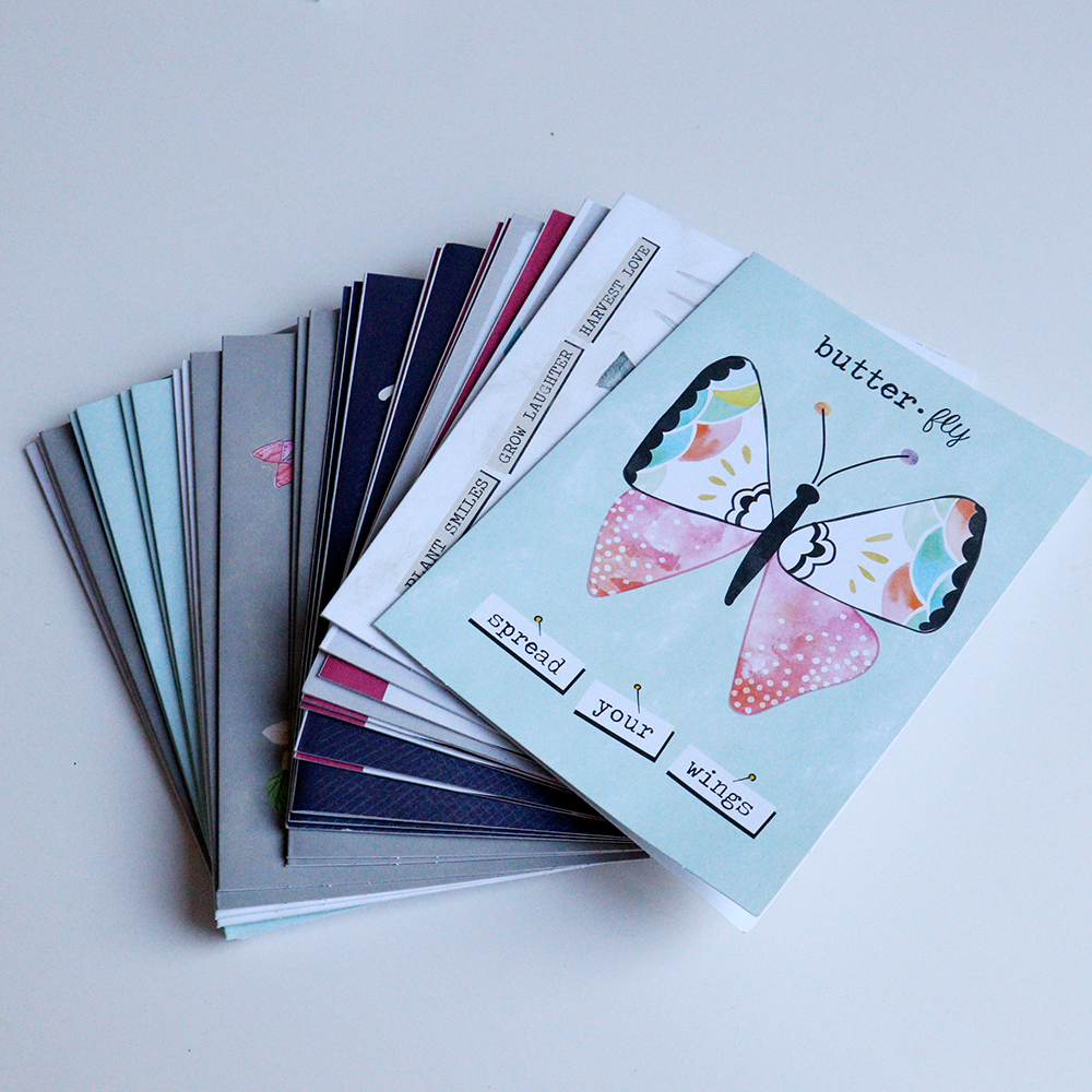 Colorful designed OEM cards printing service