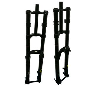 27.5/29 inch DH bike fork MCU Coil Spring mtb fork suspension