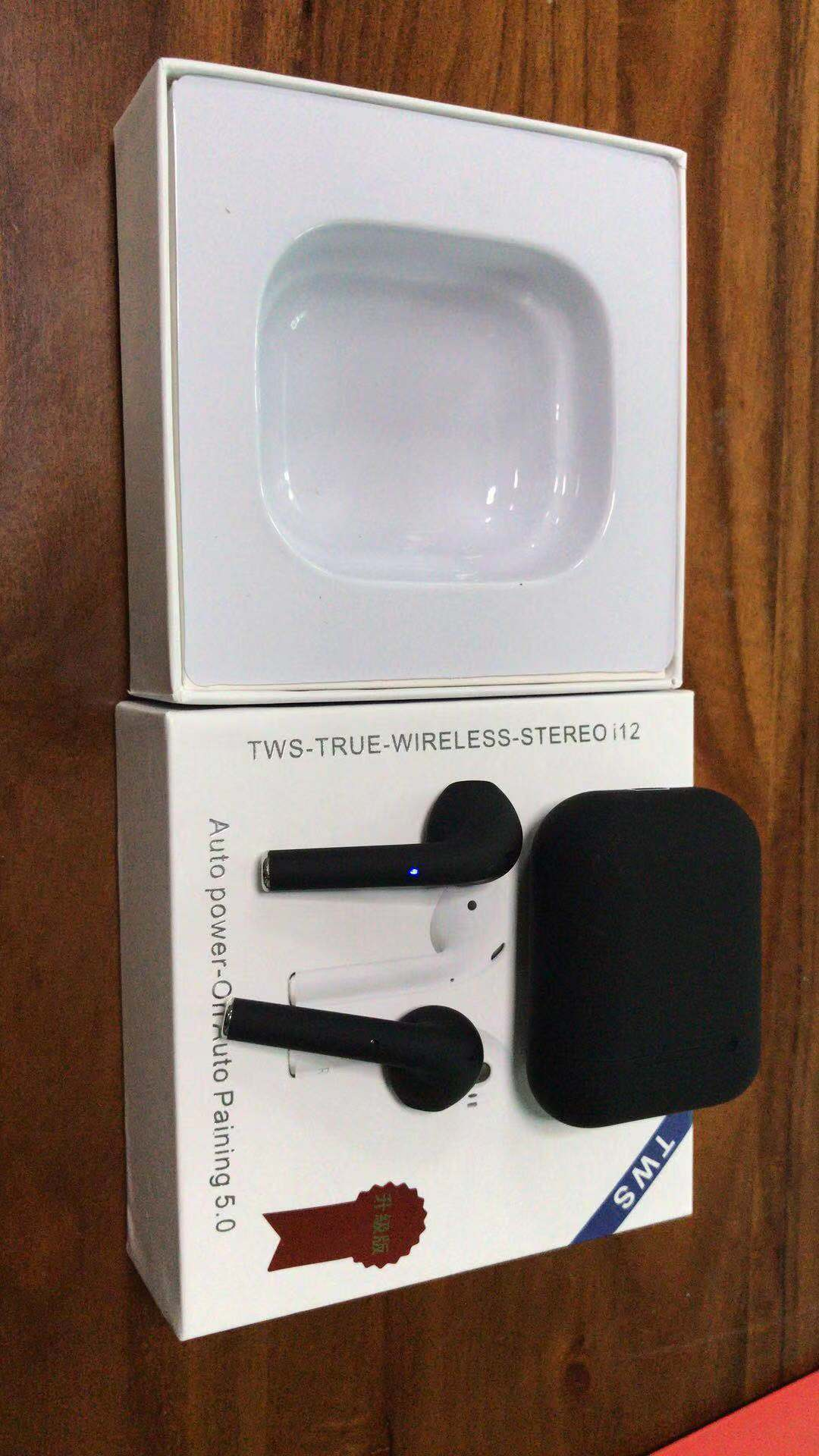 Popup Window I12 TWS 2019 Colorful HD Voice Bt5.0 Hands Free Ear Stereo Earphone Sport tws i12