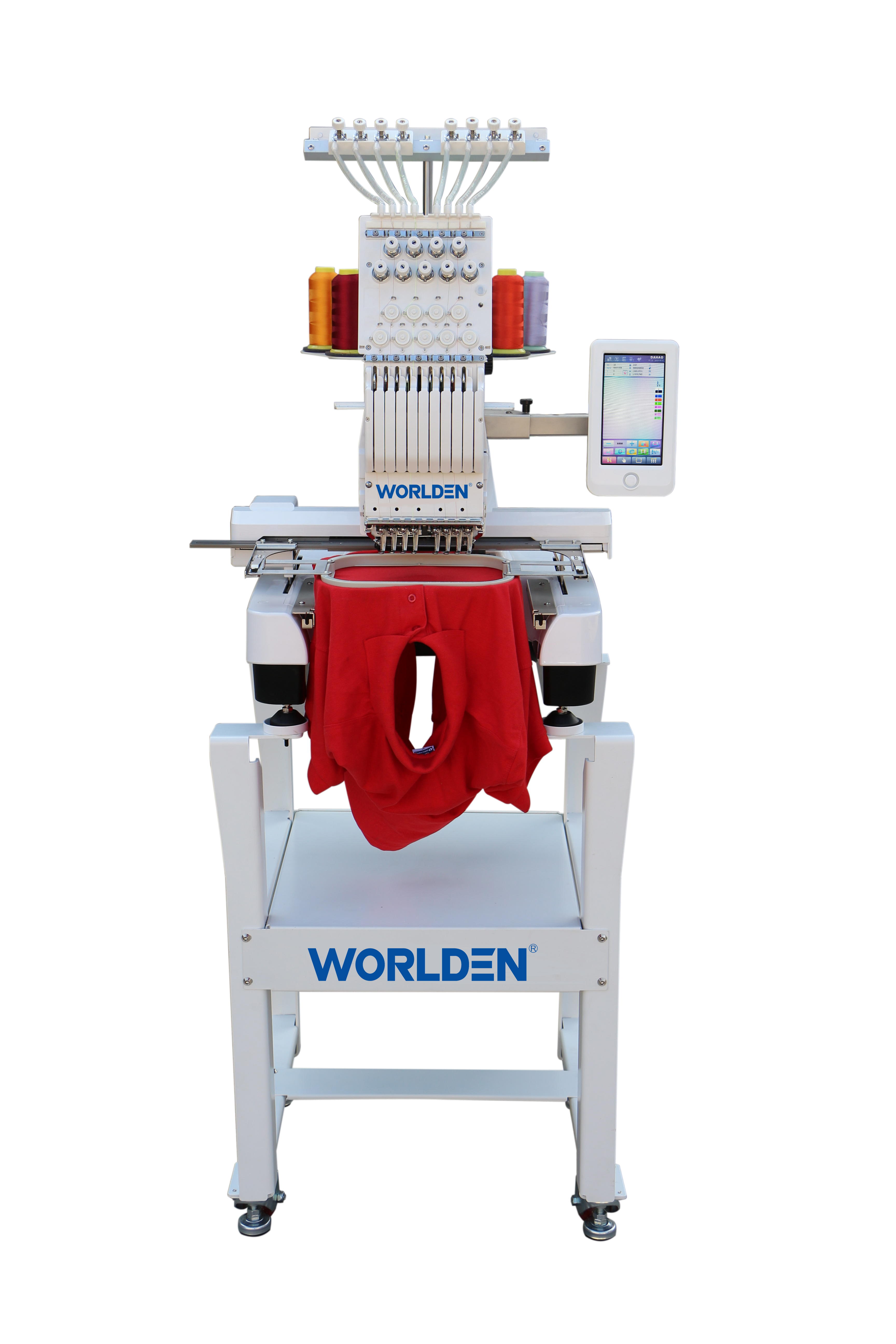 New Type WD-3620 single head 15 needles DAHAO new A15 Computerized  embroidery machine