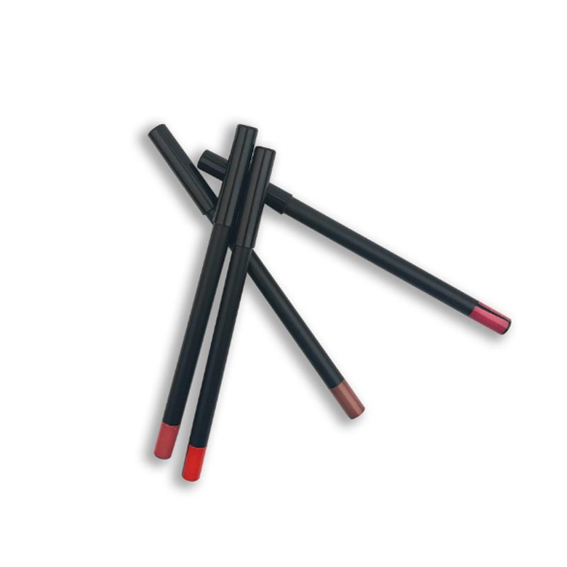 High quality lip liner waterproof without logo 12 colors can option
