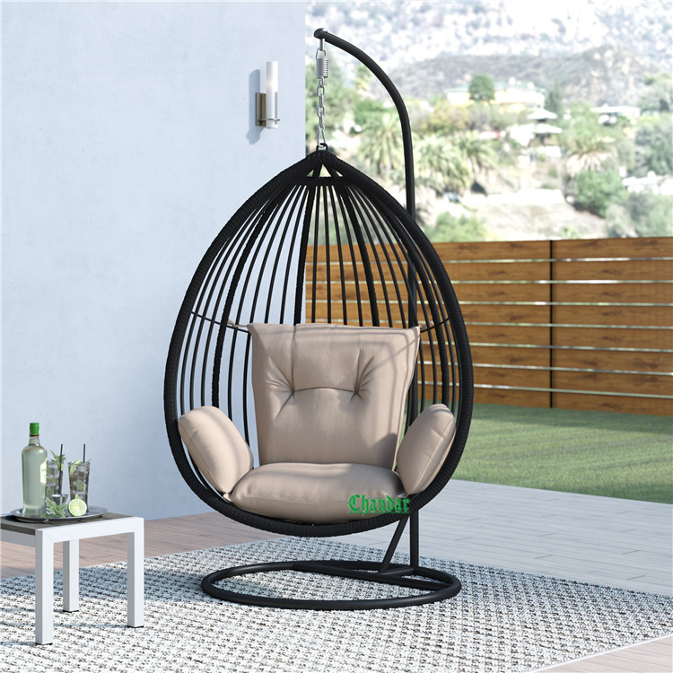 Swing Chair With Stand Buy Free Standing Swing Chairs Hanging Chair Swing Chair Hanging Pod Chair Indoor Hanging Swing Egg Chair Product On Alibaba Com