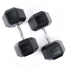 Barato Comprar Uso De Fitness 4/5/6/7/8/Pesos 9/10 kg <span class=keywords><strong>Dumbbell</strong></span> da Borracha do Hex conjunto