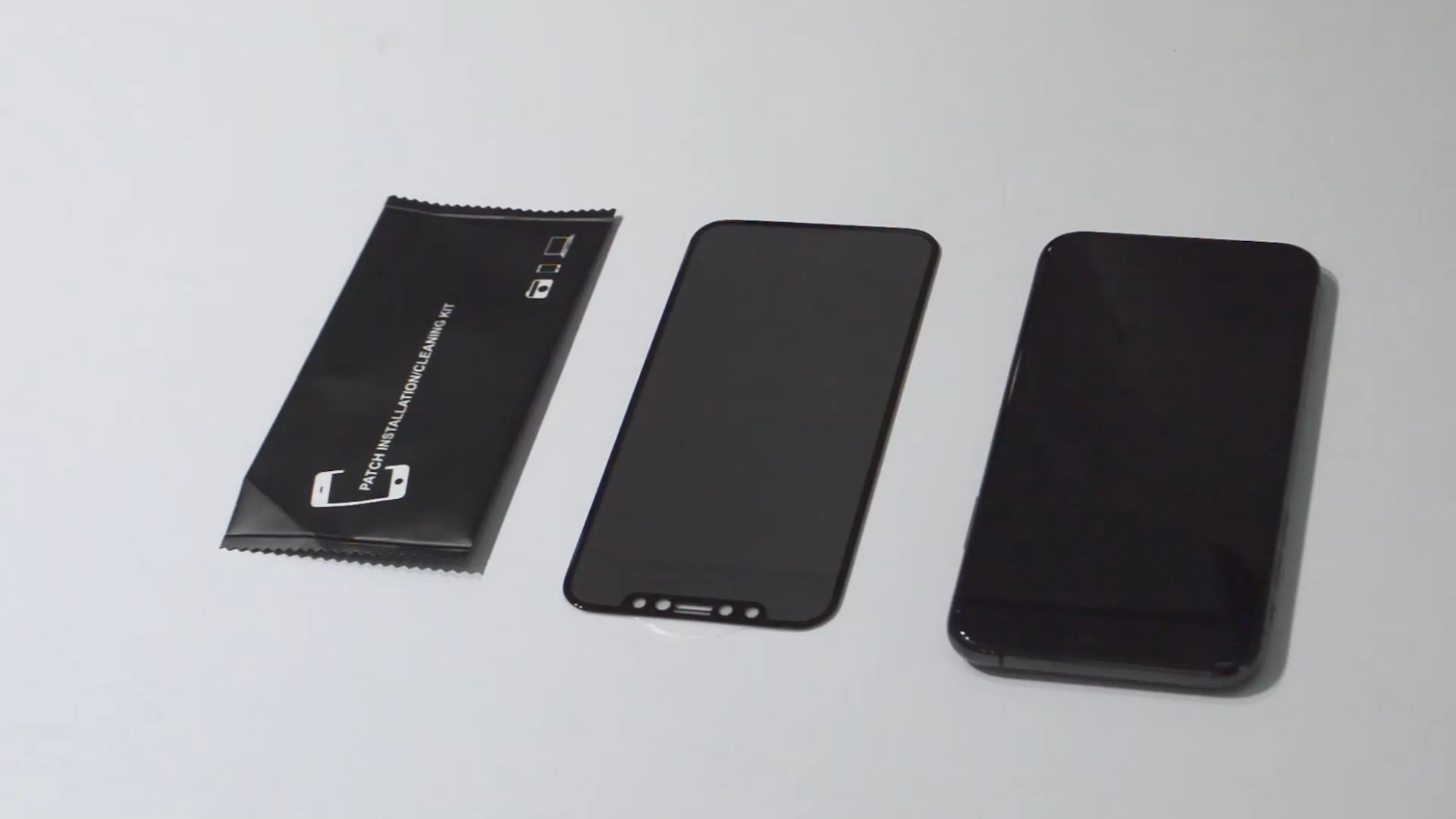 Commercio all'ingrosso di alta qualità 9h 3d privacy temperato protezione dello schermo di vetro per Samsung Galaxy S8