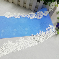 3D Fondant Silicone Icing Lace Mat Cake Decoration Tool Set