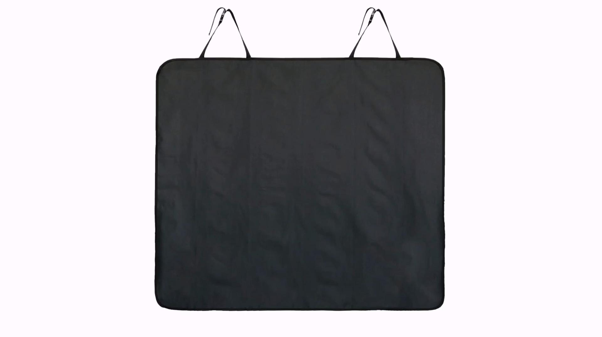 600D de la tela de Oxford Durable resistente al desgaste plegable perro asiento Protector de la cubierta con una banda de caucho fijo
