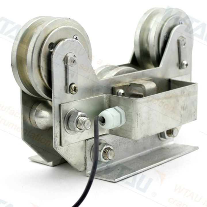 Easy to install tension compression load cell crane weight indicator for STS cranes
