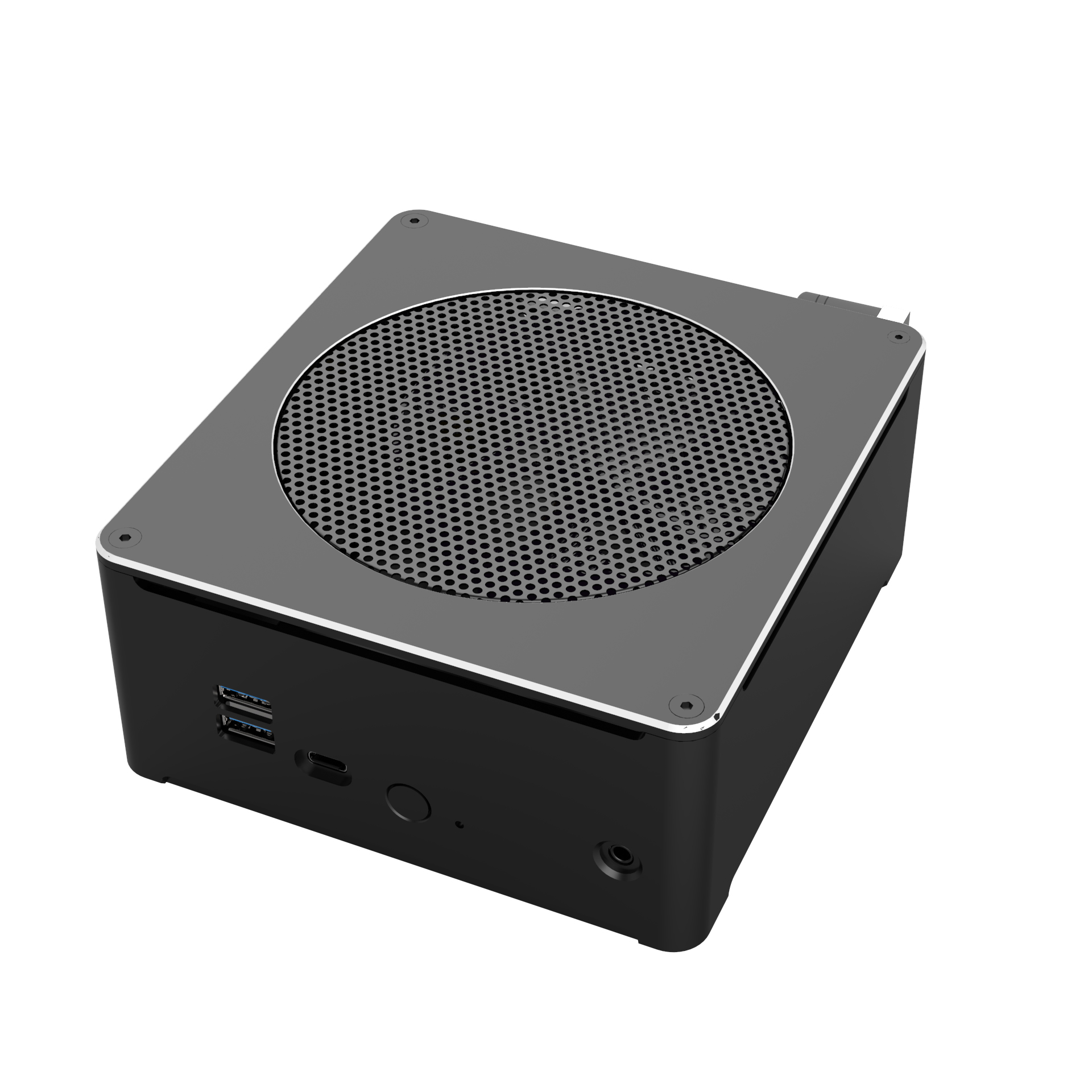 Topton Intel oyun Mini PC Xeon E-2176M dizüstü bilgisayar 2 * DDR4 64GB 2 * M.2 PCIE + 1*2.5 ''SATA Mini PC Win10 Pro HD DP AC WIFI
