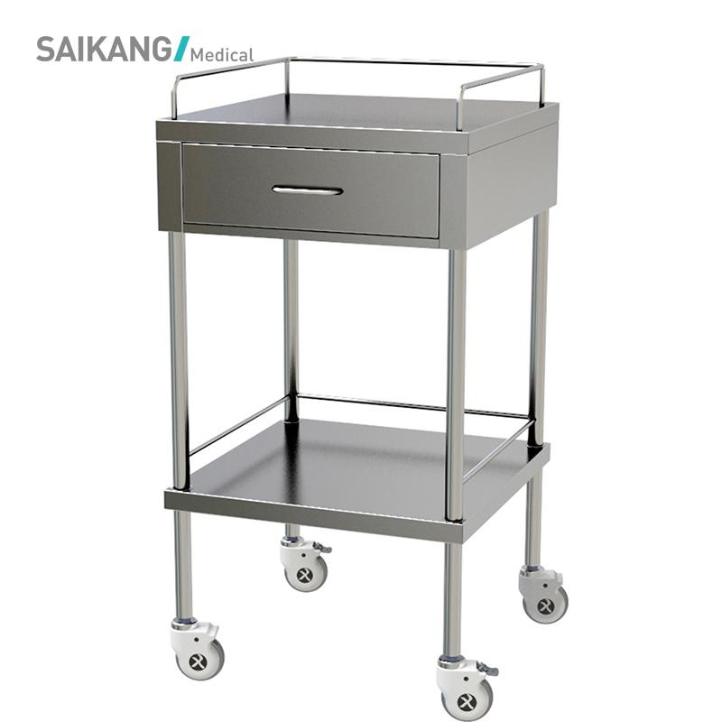 SKH006-5 Medical Emergency Hospital Trolley