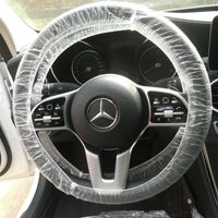 Wholesale PE disposable steering wheel cover